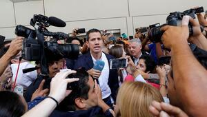 Guaido Venezuelaya döndü