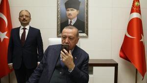 Cumhurbaşkanı Erdoğan, telefonda Mavi Vatan tatbikatına katılan askerlere hitap etti