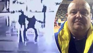 Basket maçı gözlemcisine otogarda bıçaklı saldırı kamerada