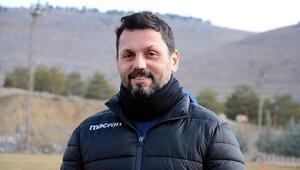 Evkur Yeni Malatyasporda hedefi belirledi