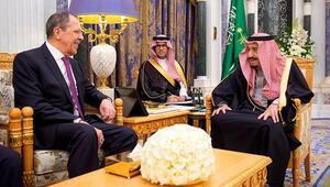 Lavrov, Suudi Arabistan Kralı Selman bin Abdulaziz ile görüştü