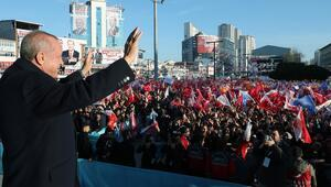 Son dakika Cumhurbaşkanı Erdoğandan Esenyurtta dikkat çeken mesajlar
