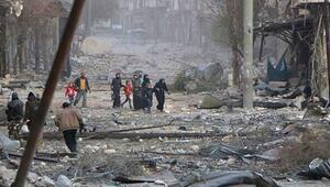 İdlib güneyine ağır bombardıman