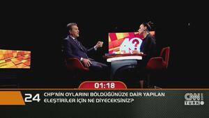 CHPnin oylarınızı böldüğünüze dair yapılan eleştirilere ne diyeceksiniz