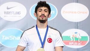 Milli sporcu Kerem Kamal, altın madalya kazandı