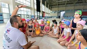 Yüzme bilmeyen kalmasın projesinde 4üncü dönem
