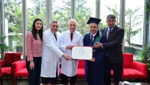 Başkan Ertürkün mezuniyet heyecanı