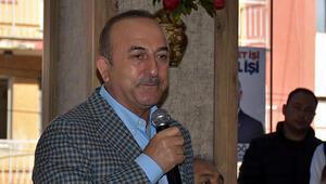 Çavuşoğlu bu sözlerle yüklendi...  Bizzat PKK tarafından yerleştirilmiştir