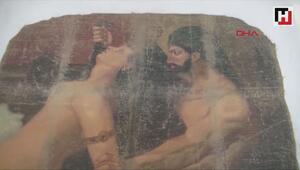Diyarbakırda Picasso imzalı tablo ele geçirildi