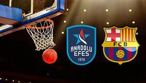 Anadolu Efes Barcelona Lassa basket maçı ne zaman saat kaçta hangi kanalda