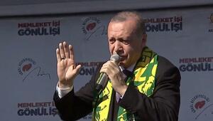 Son dakika Cumhurbaşkanı Erdoğandan Şanlıurfada çarpıcı mesajlar