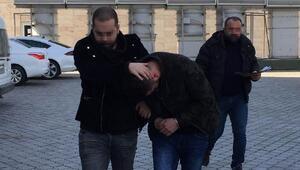 Bekçilerin yakaladığı şüpheli tutuklandı