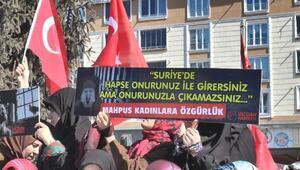Bayburtta İHHdan 8 Mart Dünya Kadınlar Günü yürüyüşü