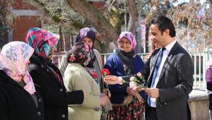 Harmancık Kaymakamı Şahinden kadınlar günü kutlamaları
