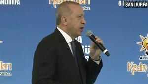 Erdoğan Şanlıurfada konuştu: Böyle bir felakete izin vermeyeceğiz