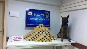Sakaryada 73 kilo eroin ele geçirildi: 5 tutuklama