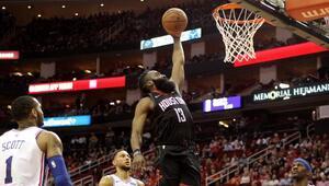 Hardendan 31 sayı, Rocketstan üst üste 7. galibiyet