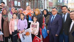 Hocalarda AK Parti seçim bürosu açıldı
