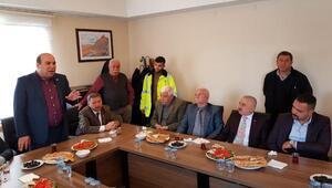 Başkan Uğurlu, TCDD personeliyle kahvaltıda buluştu