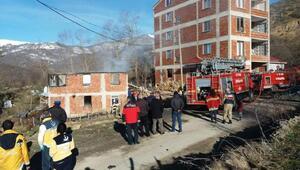 Orduda ev yangını: 1 ölü