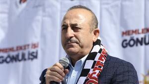 Bakan Çavuşoğlu'ndan Burdurda önemli açıklamalar