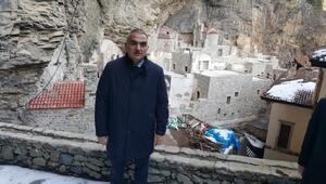 Bakan Ersoy, restorasyondaki Sümela Manastırının ikinci etabı için tarih verdi