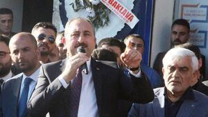 """Adalet Bakanı Gül: """"82 milyonu kimse tehdit edemez"""""""