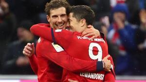 Wolfsburga yarım düzine gol atan Bayern, maç fazlasıyla lider