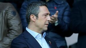 Fenerbahçeli taraftarlar maç sonu Ali Koça...