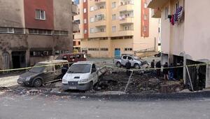 Trabzondaki patlamanın neden olduğuhasar, sabah ortaya çıktı