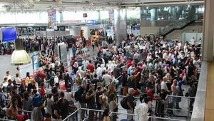 İstanbulun hava yolcusu 2 ayda 15 milyonu aştı