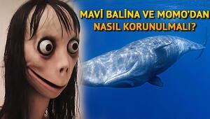 İnternetin korkulu rüyası Momo ve Mavi Balina nedir