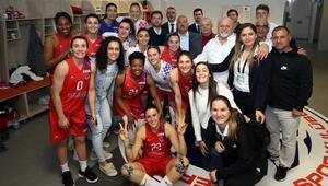 Mersin BŞBden bir ilk Çukurova Basketbolu yendiler...