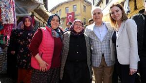 Başkan Bozbey'e Cumalıkızk'ta sevgi seli