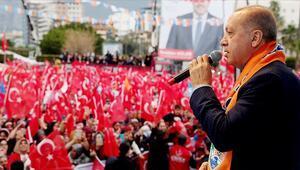 Cumhurbaşkanı Erdoğandan Hatayda önemli mesajlar