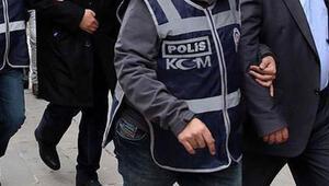HDP seçim bürosu açılışında terör propagandasına gözaltı