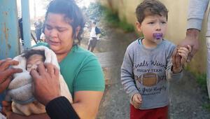 Pendikte 2 çocuğu ile dehşeti yaşadı