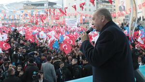 Son dakika Cumhurbaşkanı Erdoğandan Hakkaride dikkat çeken sözler
