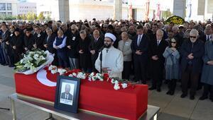 Tunçalp Özgen son yolculuğuna uğurlandı
