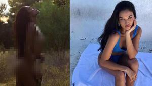 Ünlü model Shanina Shaikin paylaşımı olay oldu
