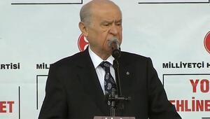 Devlet Bahçeli Yozgat mitinginde konuştu