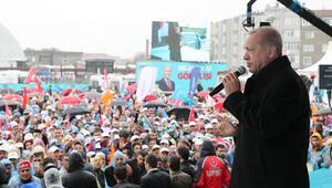 Son dakika Cumhurbaşkanı Erdoğandan Küçükçekmecede önemli mesajlar