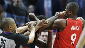 NBAde yumruklar konuştu