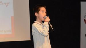 Güney Koreli çocuk, İstiklal Marşı'nı ezbere okudu