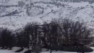 Tuncelide polis helikopteri zorunlu iniş yaptı