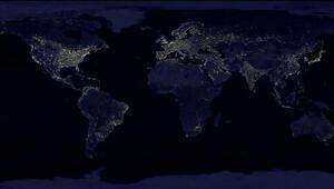 Işık kirliliğinin yıllara göre değişimini gösteren internet sitesi