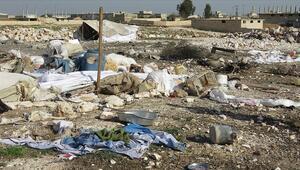 İdlibdeki sığınmacı kampına hava saldırısı