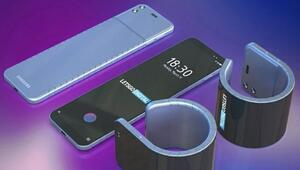 Samsung Galaxy Folddan sonra şimdi sıra katlanan bileklikte