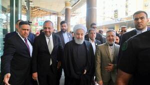 Ruhani Necefte Sistani ile görüştü
