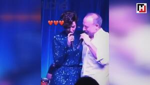 Bergüzar Korel, eşi Halit Ergenç ile düet yaptı